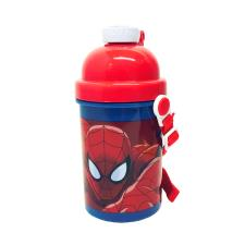 Ultimate Spiderman 400ml Drinks Bottle With Strap