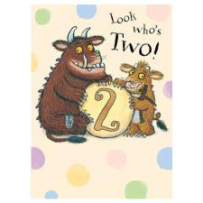 Look Whos Two The Gruffalo 2nd Birthday Card