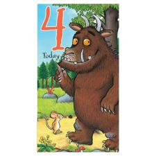 4 Today The Gruffalo 4th Birthday Card