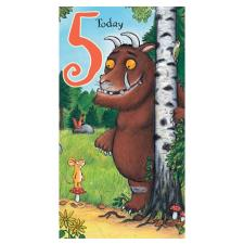 5 Today The Gruffalo 5th Birthday Card
