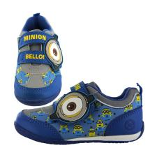 Minions Bello Kids Velcro Plimsoll Runner Trainers