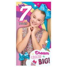 JoJo Siwa 7 Today 7th Birthday Card