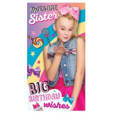 Sister JoJo Siwa Birthday Card