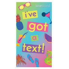 Love Island I've Got A Text Birthday Card
