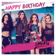Little Mix Square Birthday Card