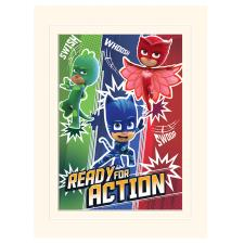 PJ Masks Ready for Action Bordered Print (30 x 40cm)