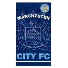 Manchester City Birthday Card with Badge