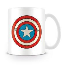 Captain America Shield Marvel Comics Retro Mug