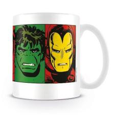 Marvel Comics Faces Retro Mug