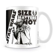 Star Wars Size Matters Not Yoda Mug