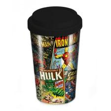 Marvel Comics Retro Covers Travel Mug