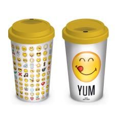 Smiley Emoji Travel Mug