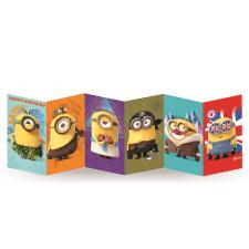 Happy Birthday Minions Fold Out Card