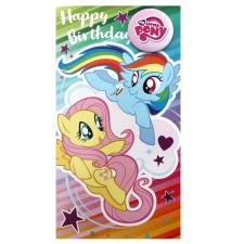 My Little Pony Badged Birthday Card