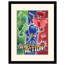 PJ Masks Ready For Action Mounted & Framed Print (30cm x 40cm)