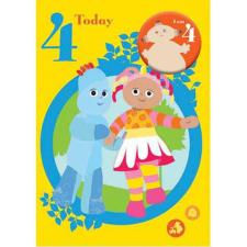 In The Night Garden 4 Today 4th Birthday Card