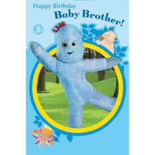 In The Night Garden Baby Brother Birthday Card