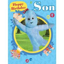 In The Night Garden Son Large Birthday Card