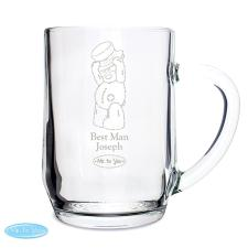 Personalised Me to You Bear Engraved Wedding Tankard