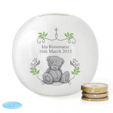Personalised Me to You Bear Natures Blessing Money Box