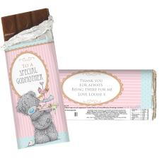 Personalised Me To You Bear Cupcake 100g Chocolate bar