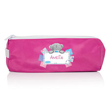 Personalised Me to You Bear Pink Pencil Case