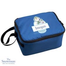 Personalised The Snowman & The Snowdog Lunch Bag
