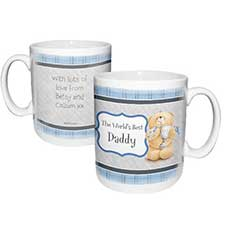 Personalised Forever Friends No1 Trophy Mug