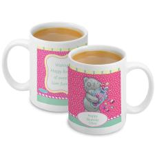 Personalised Me to You Bear Candy Girl Mug