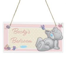 Personalised Me to You Bear Wooden Plaque