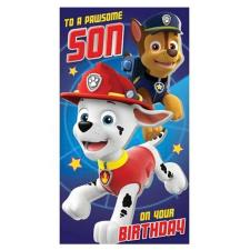 Special Son Paw Patrol Birthday Card