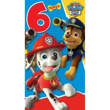 6 Today Paw Patrol Birthday Card