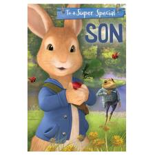 Peter Rabbit Special Son Pop Up Birthday Card