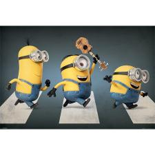 Abbey Road Minions Maxi Poster
