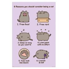 Pusheen Reasons to be a Cat Maxi Poster