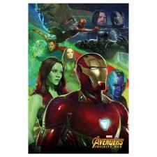 Marvel Avenger Infinity War Iron Man & Heroes Maxi Poster