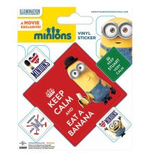 Minions Keep Calm Vinyl Stickers
