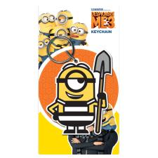 Despicable Me Minions Spade PVC Keyring