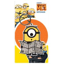 Despicable Me Minions Map PVC Keyring