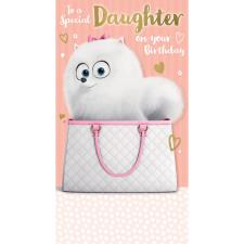 Special Daughter The Secret Life of Pets Birthday Card
