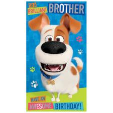 Brother The Secret Life Of Pet Birthday Card
