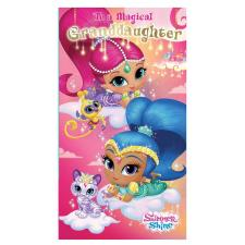 Granddaughter Shimmer & Shine Birthday Card