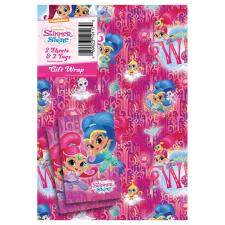 Shimmer & Shine Gift Wrap & Tags