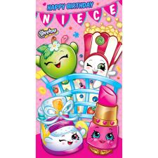 Niece Shopkins Birthday Card