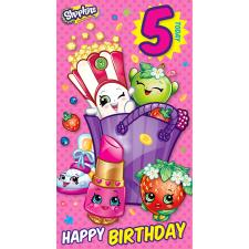 5 Today Shopkins Birthday Card