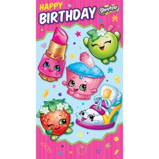 Happy Birthday Shopkins Birthday Card