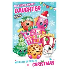 Shopkins Daughter Christmas Card