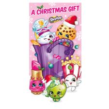 Shopkins Christmas Money Gift Wallet