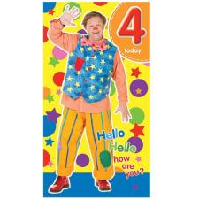 4 Today Mr Tumble Something Special Birthday Card