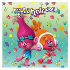 Trolls Have A Good Hair Day Canvas Print (40cm x 40cm)